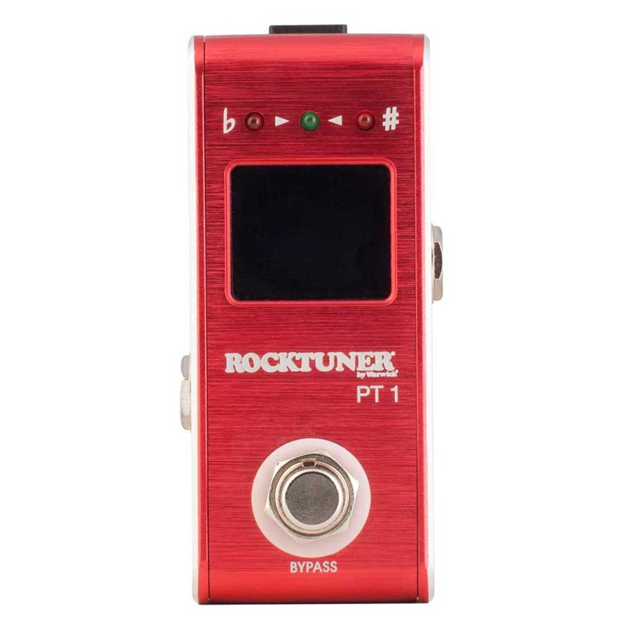 RT PT 1 Pedal Tuner Crimson Red