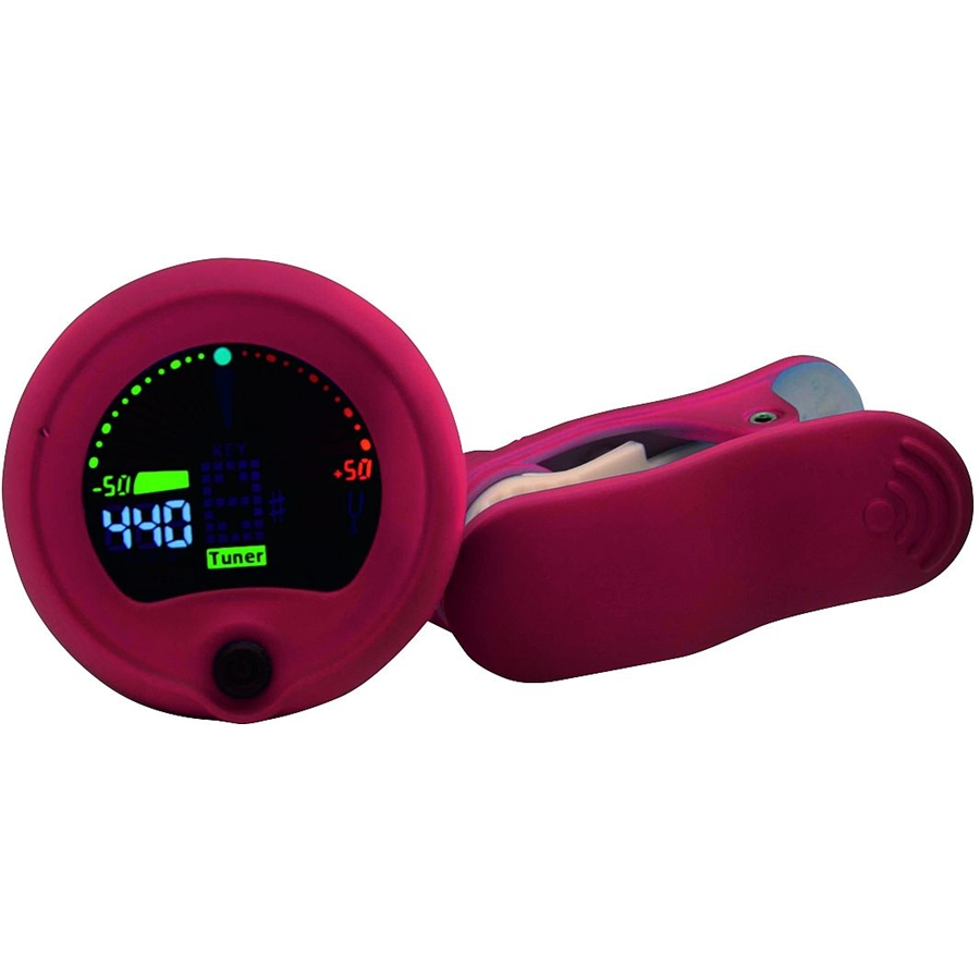 RT CT 10 Auto Chromathic Clamp Tuner Red