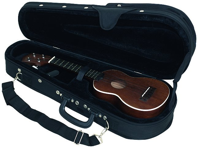 RC 20851 B Soft Light Case Deluxe per Ukulele Concerto