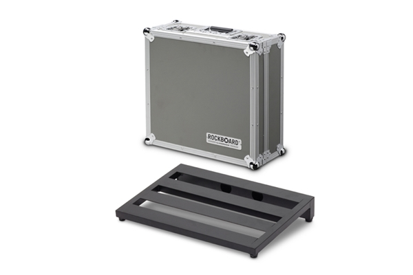 Rockbag - RBO CLUB FC Rockboard Club, pedaliera 43x31cm con Flight Case