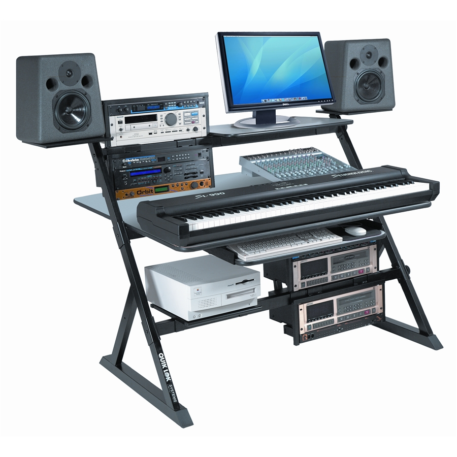 Quik lok z 555 workstation e mobili da studio for Studio mobili