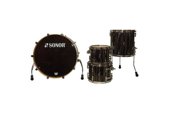 Sonor - PL 12 Studio 1 Shells NM - Ebony White Stripe