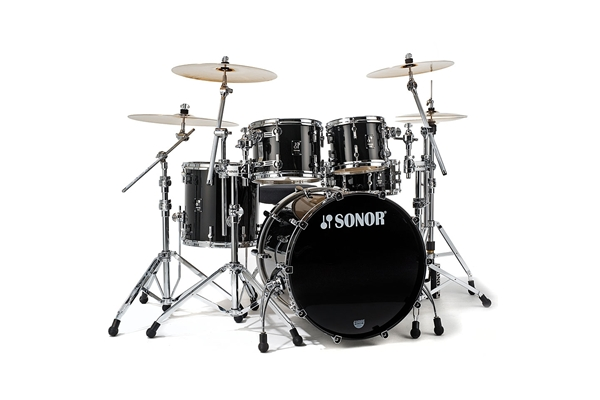 Sonor - PL 12 Stage 2 Shells NM - Brilliant Black
