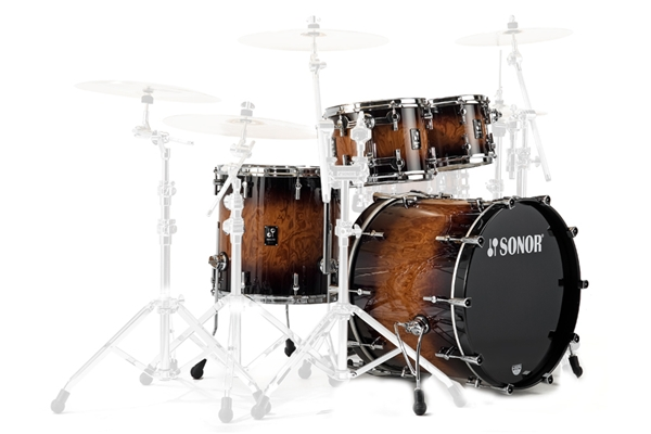 Sonor - PL 12 Stage 2 Shells NM - Nussbaum