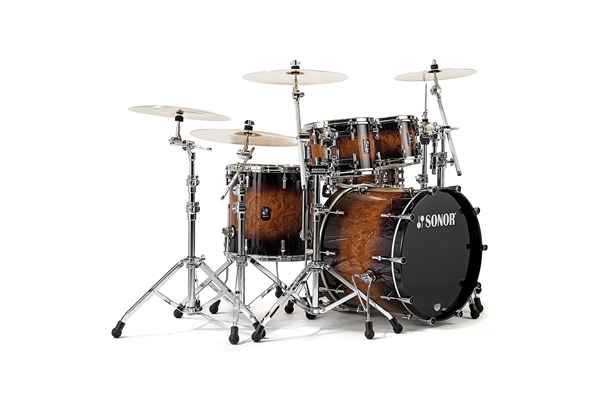 Sonor - PL 12 Stage 2 Shells NM - Walnut Brown Burst