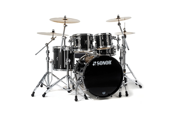 Sonor - PL 12 Stage 3 Shells NM - Brilliant Black
