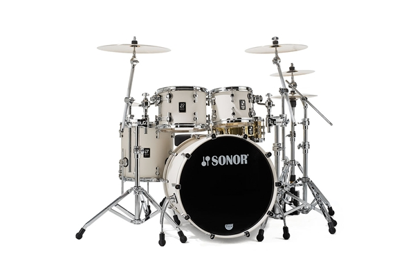 Sonor - PL 12 Stage 3 Shells NM - Creme White