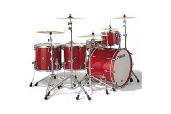 Sonor - PL 12 Stage 3 Shells NM - Ruby Red