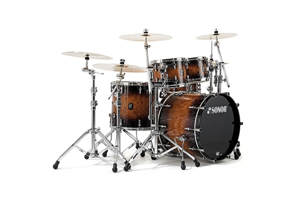 Sonor - PL 12 Stage 3 Shells NM - Walnut Brown Burst