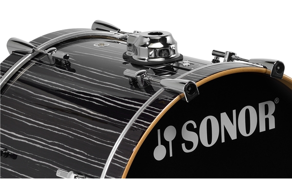 Sonor - PL 12 1814 BD WM - Ebony White Stripe