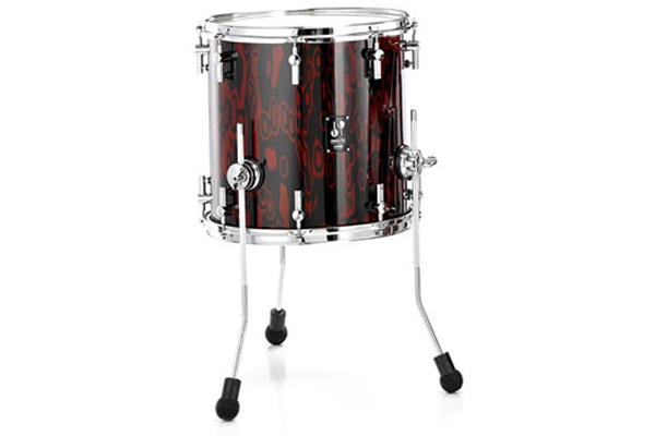 Sonor - PL 12 1616 FT - Red Tribal