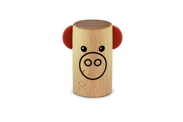 Sonor - RS Joggle-Pig, altezza 6.2 cms, 3.5 cms dia.