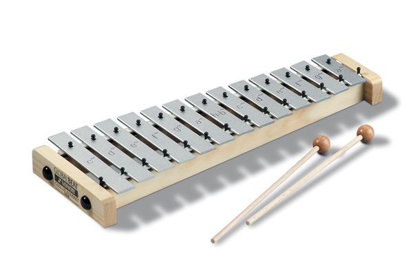 Sonor - SG GB Soprano-Glockenspiel, c3-a4; 1 pair SCH 40; Global Beat