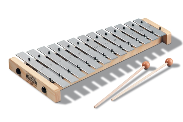 Sonor - AG GB Alto-Glockenspiel, c2-a3; 1 pair SCH 40; Global Beat