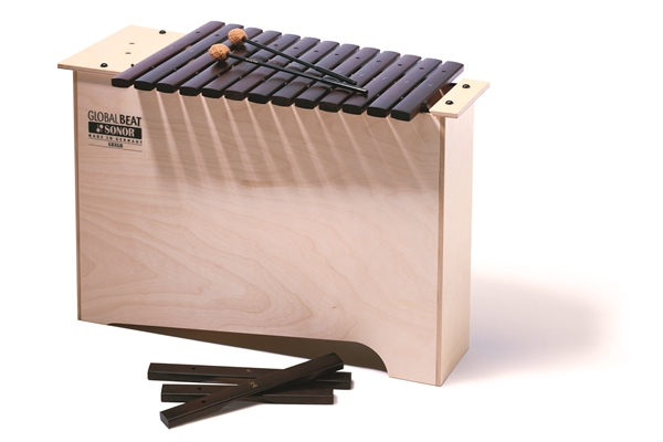 Sonor - GBX GB Deep-bass Xylophone, c-a1, 1 pair SCH 15