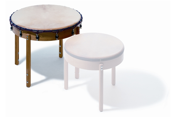 Sonor - T 90 Table Drum, 90 cm dia., altezza: 78 cm,  pino massello, pelle naturale