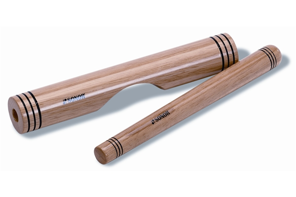 Sonor - CLA Claves, legno, Natural, incl. Battente
