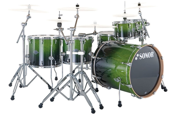 Sonor - ESF 11 Stage S Drive - Green Fade