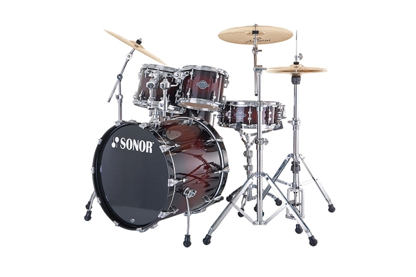 Sonor - SEF 11 Stage 3 - Smooth Brown Burst