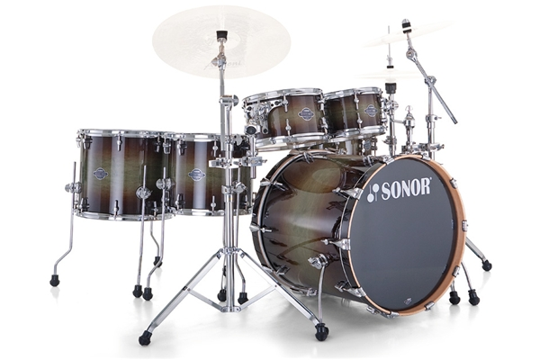 Sonor - SEF 11 Stage S Drive - Smooth Brown Burst
