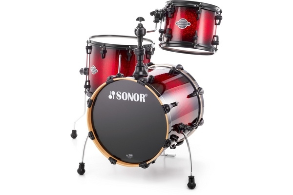 Sonor - SEF 11 Jungle Set - Red Sparkle Burst