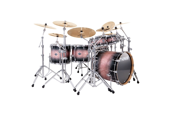Sonor - SEF 11 Jungle Set - Brown Galaxy Sparkle