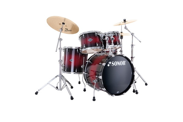 Sonor - SEF 11 Jungle Set - Smooth Red Burst