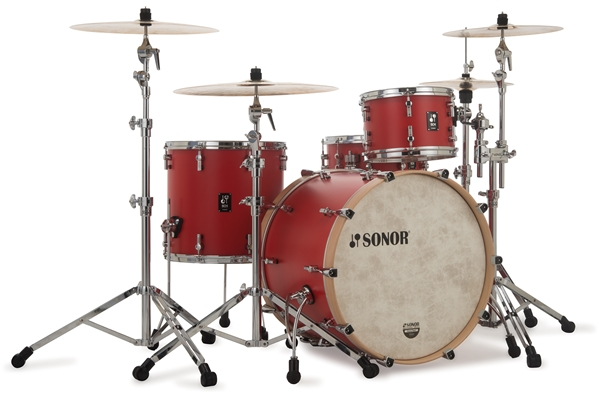 Sonor - SQ1 322 Set NM HRR - Hot Rod Red