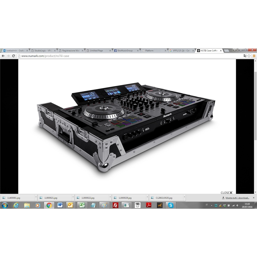 NUMARK NS7 III CASE