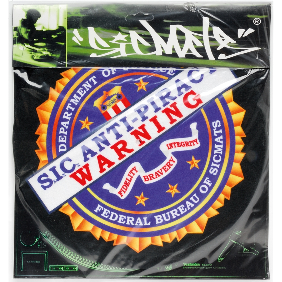 WARNING SLIPMAT