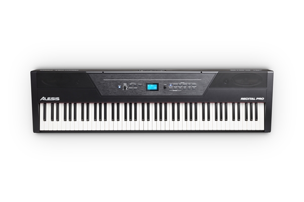 Alesis - RECITAL PRO: PIANOFORTE DIGITALE CON TASTIERA 88 TASTI HAMMER-ACTION