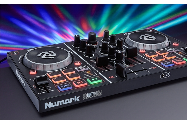 Numark - Numark Party Mix DJ - Controller entry level con effetti luce integrati