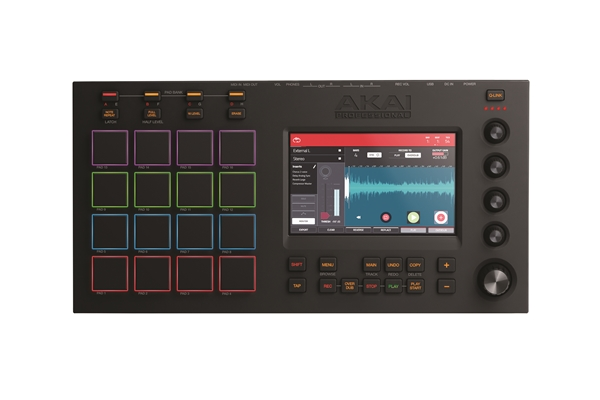 Akai Professional - MPC TOUCH: MIDI USB CONTROLLER CON INTERFACCIA AUDIO E SCHERMO MULTI-TOUCH DA 7