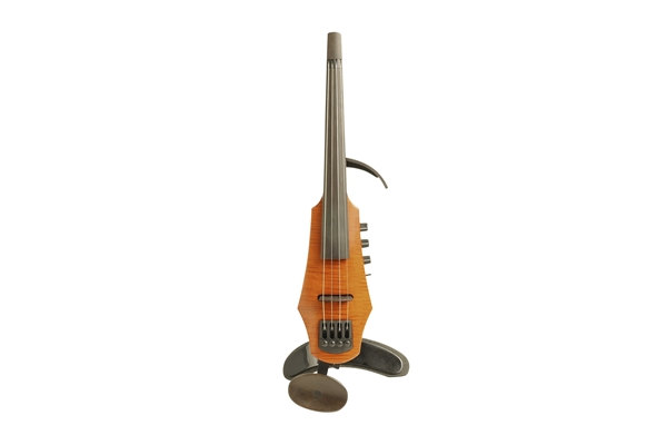 NS Design - CR Electric Violin 4 Amber Stain