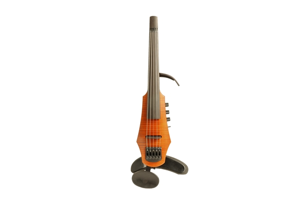 NS Design - CR Electric Violin 5 Amber Stain