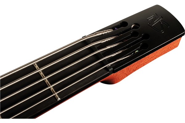 NS Design - CR5 Radius Basso 5 corde, Amber Satin