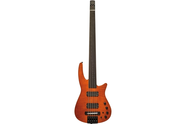 NS Design - CR5 Radius Basso 5 corde Fretless, Amber Satin