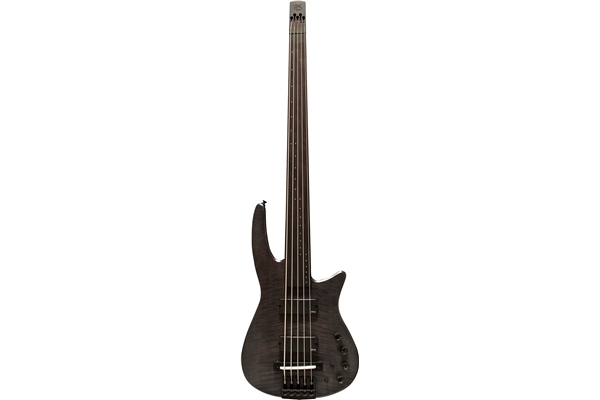 NS Design - CR5 Radius Basso 5 corde Fretless, Charcoal Satin
