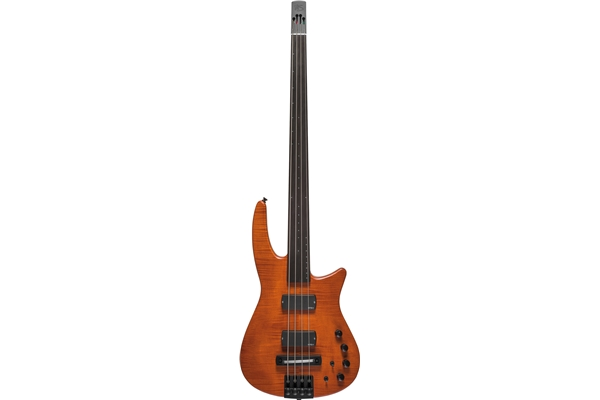 NS Design - CR4 Radius Basso 4 corde Fretless, Amber Satin