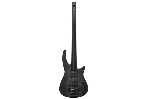 NS Design - CR4 Radius Basso 4 corde Fretless, Charcoal Satin