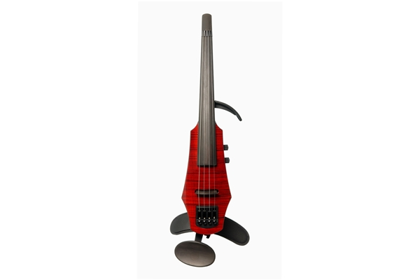 NS Design - WAV Electric Violin 4 Trasparent Red