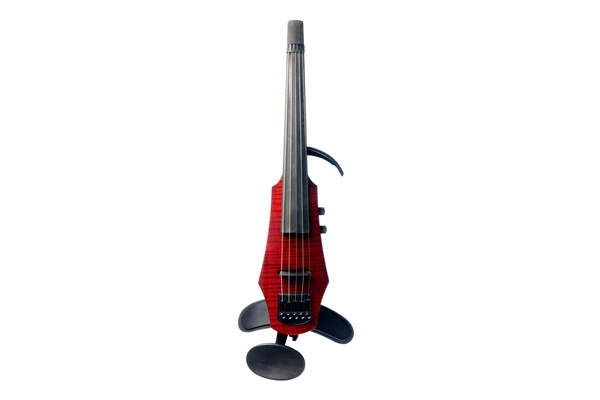 NS Design - WAV Electric Violin 5 Trasparent Red