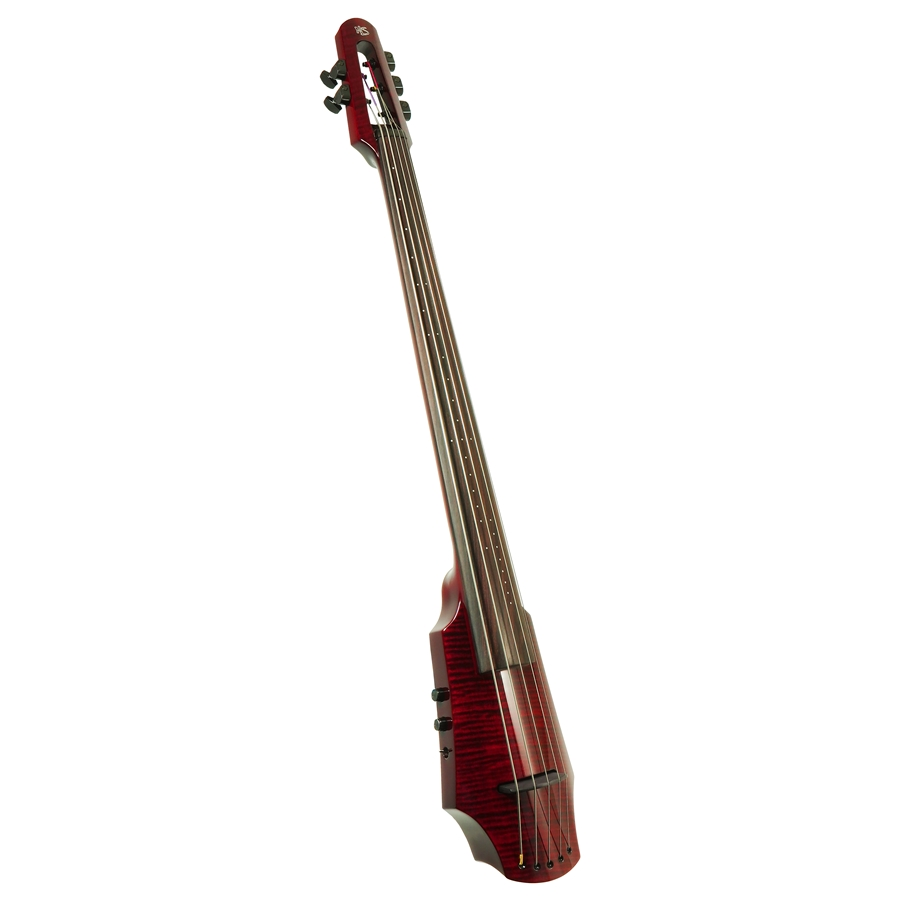WAV Electric Cello 5 Transparent Red