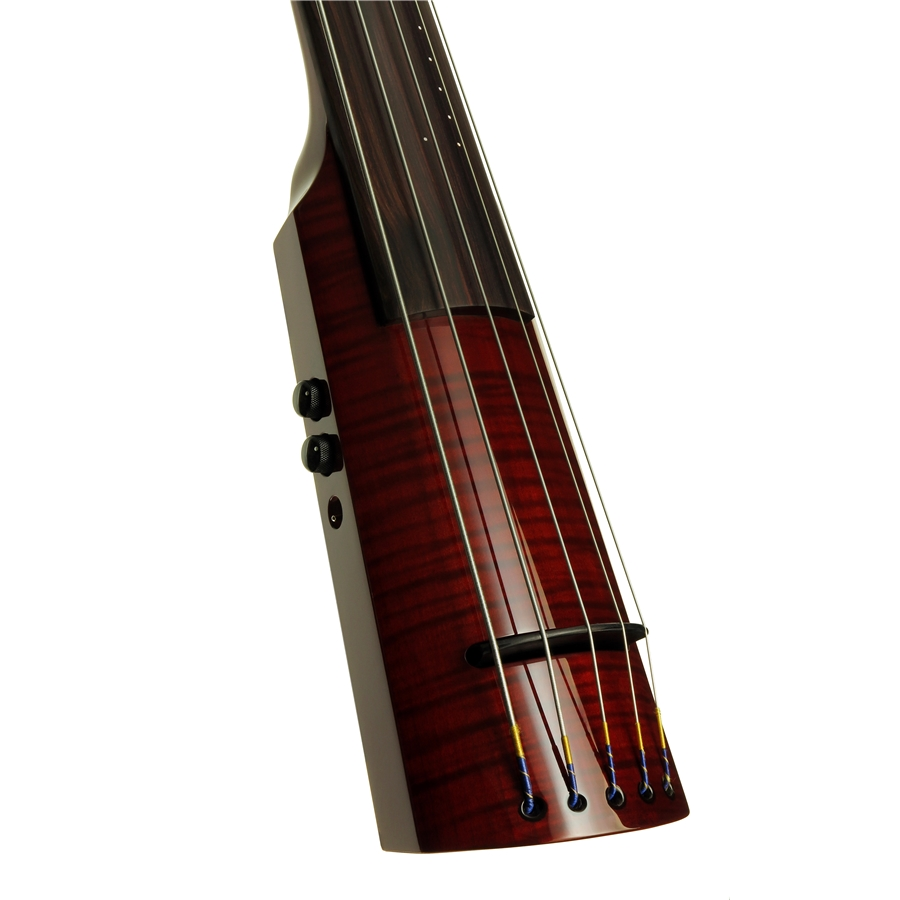 WAV Electric Upright Bass 5 Transparent Red