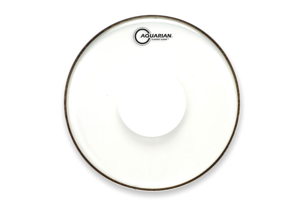 Aquarian - CCPD12 Classic Clear w/Power Dot - 12