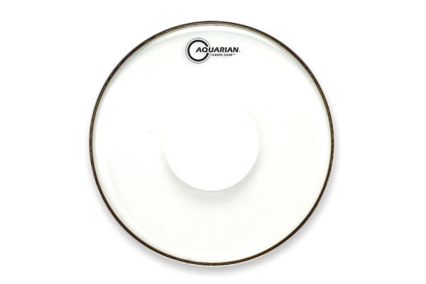 Aquarian - CCPD13 Classic Clear w/Power Dot - 13''