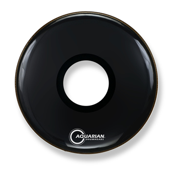 Aquarian - PTCC18BK Large Center Hole Black - 18