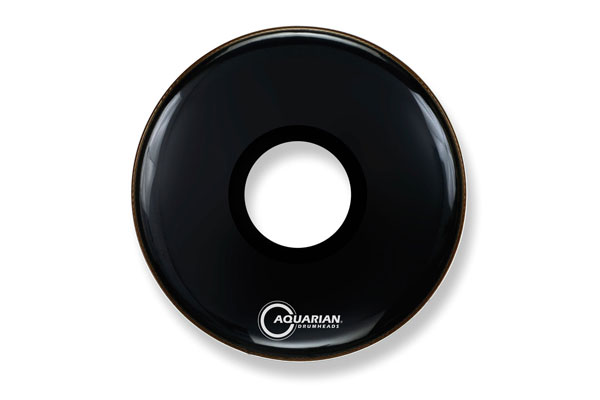 Aquarian - PTCC26BK Large Center Hole Black - 26