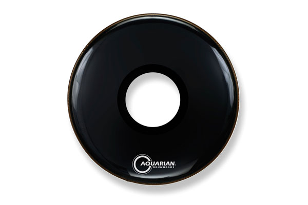 Aquarian - PTCC28BK Large Center Hole Black - 28