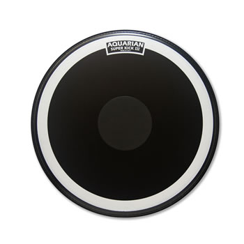 Aquarian - SKIII18BK Single Ply w/Power Dot - 18